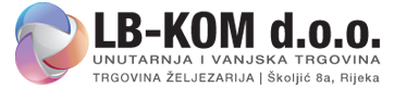 ŽELJEZARIJA LB-KOM d.o.o. RIJEKA Logo