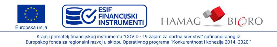 Krajnji primatelj financijskog instrumenta sufinanciranog iz Europskog fonda za regionalni razvoj u sklopu Operativnog programa Konkurentnost i kohezija